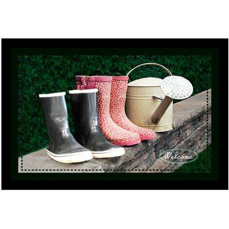 "main image of ""Tapis Velvet Bottes & Arros 45x75 - MERCURY"""