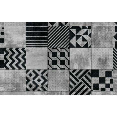 Tapis vinyl George Geometric