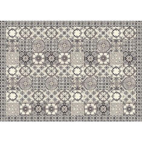Tapis Vinyle Black&White Tiles