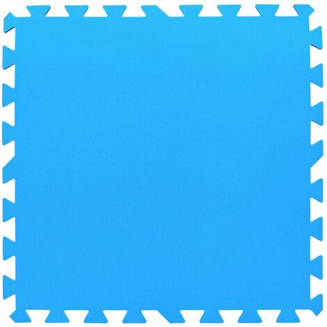 Tapiz de Suelo de Goma Bestway 50x50 cm (Azul) - 58220N