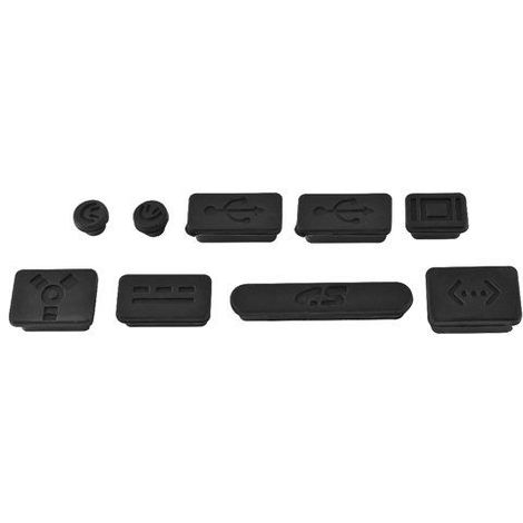 Tapon anti-polvo para MacBook Pro Negro