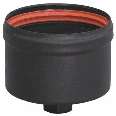 Tapón c/purga para estufa pellet 80mm