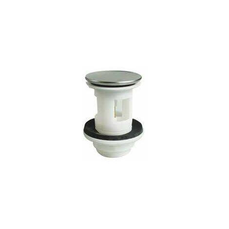 Tapón de lavabo + válvula de acero inoxidable modelo Porcherantiguo