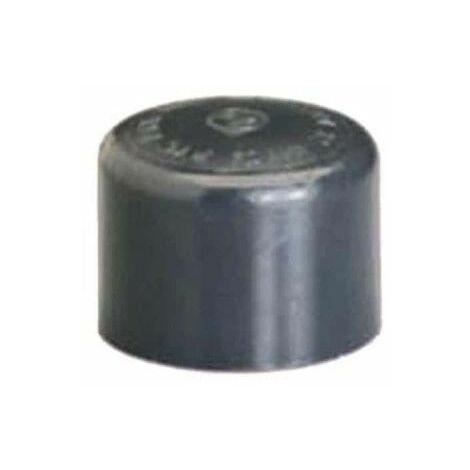 Tapón de PVC - Hembra - Presión a encolar - Diámetro 40 mm 39839D