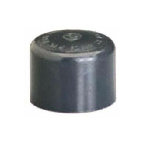 Tapón de PVC - Hembra - Presión a encolar - Diámetro 63 mm 39841F