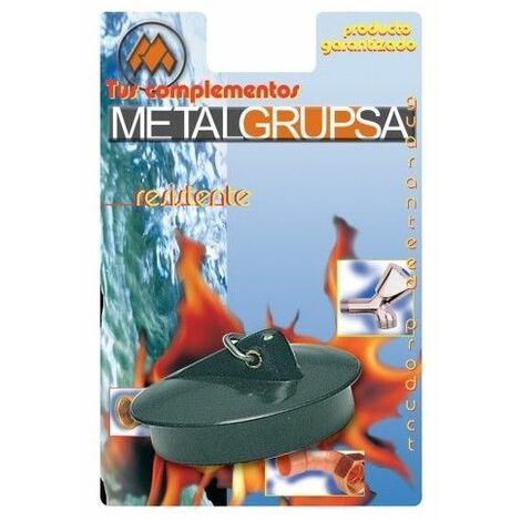 Tapon Fregadero 44Mm Goma Metalgrup