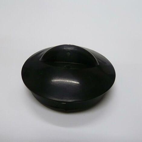 Tapon Lavabo/Bidet/Bañera Estándar 45Mm Goma Negro Saneaplast 751851