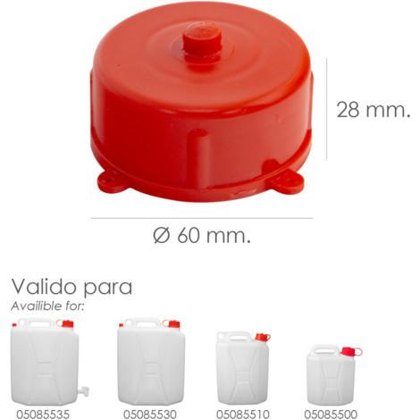 Tapon Para Bidon Alimentario 5 / 10 / 20 Litros - NEOFERR..