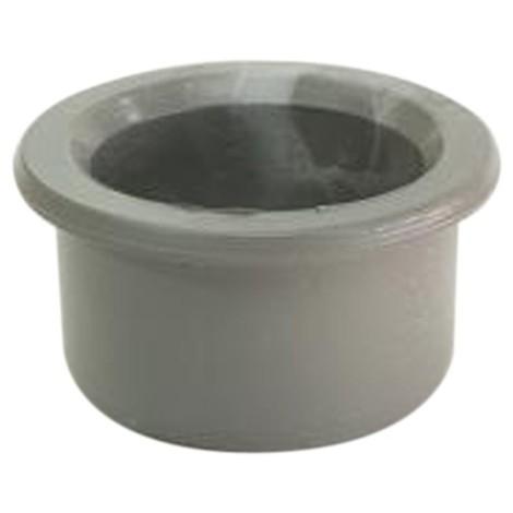 Tapón reductor de PVC gris Macho Hembra de Crearplast
