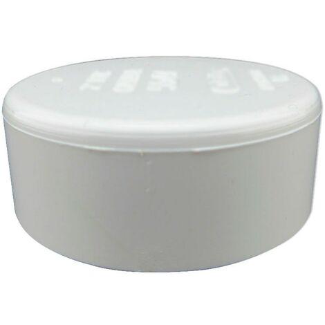 Tapón Tubería PVC Blanco Aspiración Centralizada - Blanco