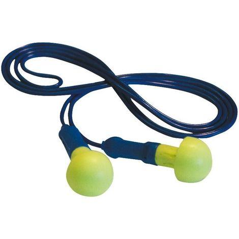 Tapones de protección auditiva - varilla 3M™ E-A-R™ Push-Ins cuerda EX-01-020 (100 Pares)