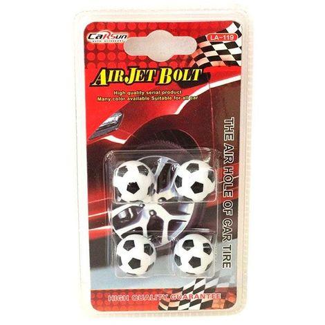 Tapones válvula balones fútbol coche mod 28751