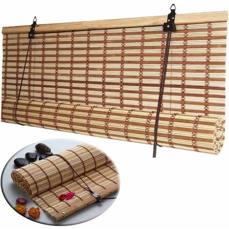 Tende In Midollino A Rullo.Tapparella Tenda Oscurante Africa In Listelli Di Midollino Con Corda Per Finestre Casa Ufficio 10822