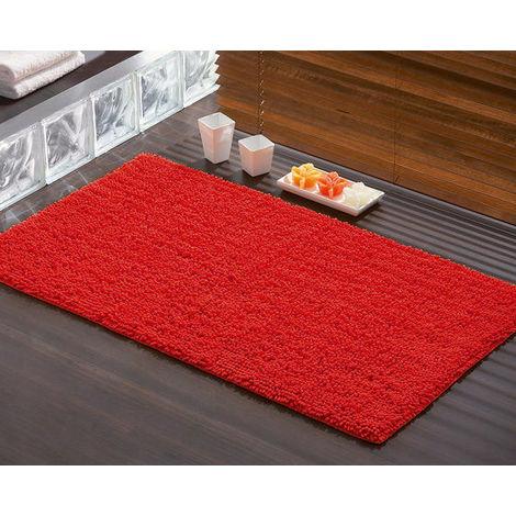Tappeto bagno 50x80 tiziano 96655006 gedy rosso