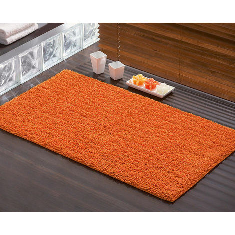 Tappeto bagno 50x80 tiziano 96655067 gedy arancio