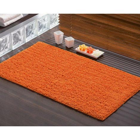 Tappeto bagno 70x120 tiziano 96657067 gedy arancio