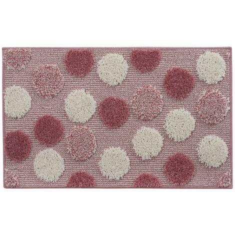 Tappeto bagno antiscivolo rosa 50 x 80 cm mod. Ios