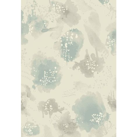 Tapis Tropical Bleu Clair Gris 140x200 cm 140X200 KOBEL 5420406014020