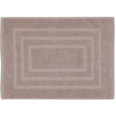 Tappeto Scendi Doccia Sabbia In Cotone 45x65 Cm