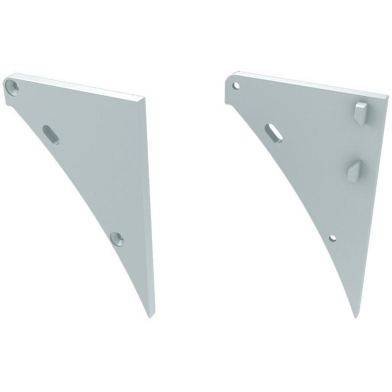 Greenice - Tappo Di Chiusura alluminio Bianca Sinistra | Alluminio - Bianca - Destra (LL-12-0151-11)