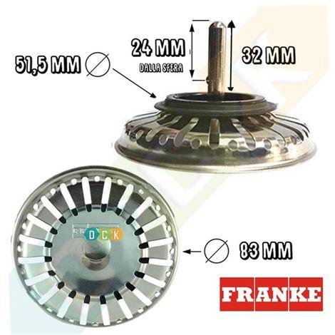franke tappo lavello originale  Tappo Filtro Lavello Franke Ricambio Originale Cod 1920059 Tipo ...