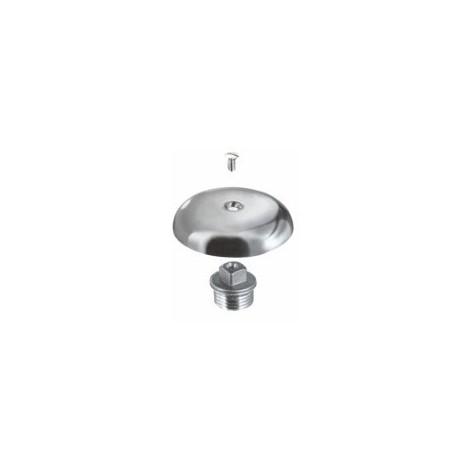 Waterful TEC317450 Tappo Copriforo Cromato per Lavandino e Lavabo 11//4