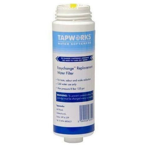 Tapworks Easychange Q5486 Replacement System Tap Cold Water Filter Cartridge