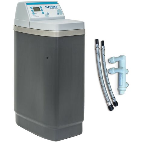 Tapworks NSC14PRO Water Softener Easyflow Metered - Full Installation Kit +Hoses