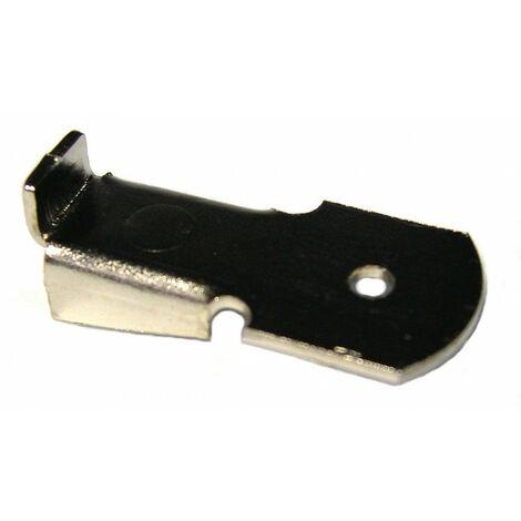 Taquet de crémaillère acier Nickelé 12 Pce(s)