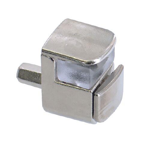 Taquet Vynex métal Gris diam. 5 mm - 8 pcs