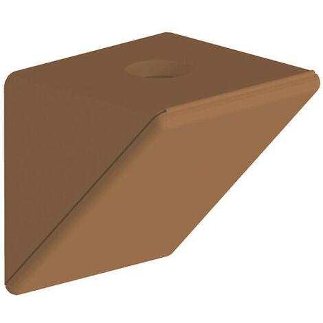 Taquet d'assemblage simple caramel - lot de 12 pièces - Caramel
