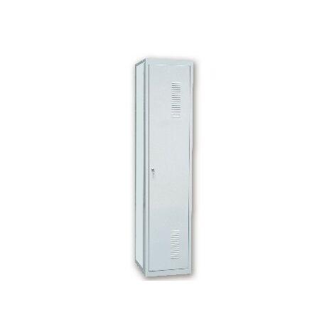 Taquilla metalica ar storage 50x180x30 cm 1 puerta con llave color gris continuacion