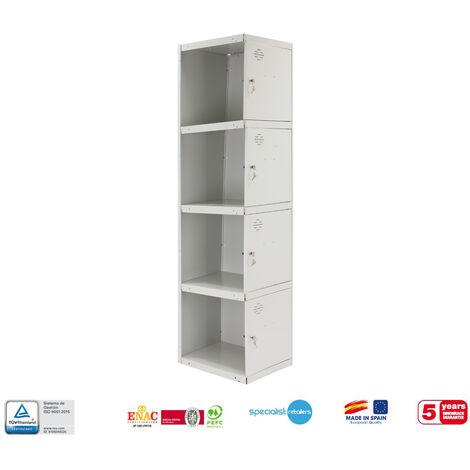 TAQUILLA METALICA PRO DESMONTADA 4 DOORS 1/4 300 ADICIONALCIONAL 1800x300x500 mm
