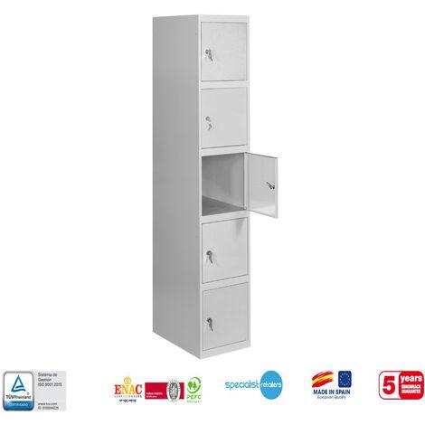 TAQUILLA METALICA PRO DESMONTADA 5 DOORS 1/5 300 INICIAL 1800x300x500 mm