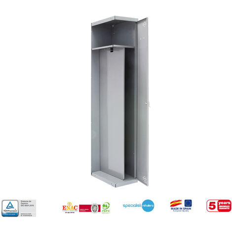 TAQUILLA METALICA PRO DESMONTADA SINGLE-DIVIDER 1/1 500 ADICIONAL 1800x500x500 mm