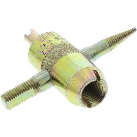 Taraudeuse de valve pneumatique pour Réfection de filetages de tige de valve endommagés