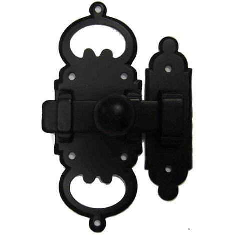 Targette 682 fer noir BOUVET 100 x 38 mm - 23339