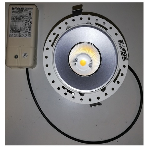 Targetti 1T4652DA Mini spot architectural encastré LED