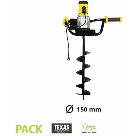 Tarière électrique 1200W avec vrille de 150 mm Texas EA1200