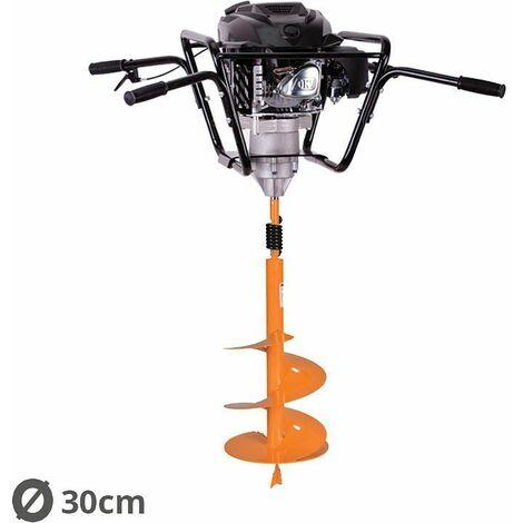 Tarière motorisée 4 temps 150 cm3 3,4 cv avec mèche 30cm Villager VPH 170