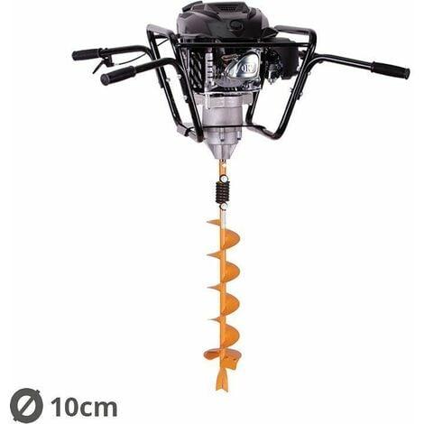 Tarière motorisée 4 temps 150 cm3 3,4cv avec vrille 10cm Villager VPH 170