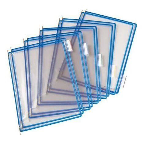 Tarifold Sichttafel A4 Blau Pckg A 10 Stück 114001