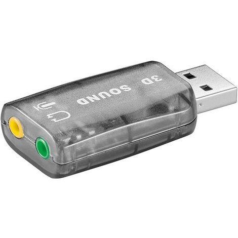 Tarjeta de sonido USB 2.0