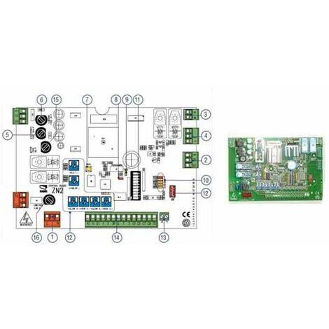 Tarjeta electronica de reemplazo CAME ZN2 BX-243 24V