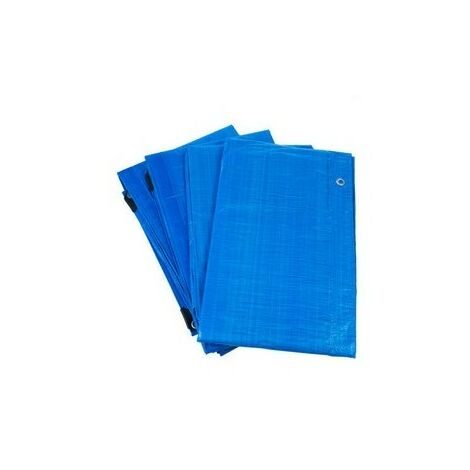 Tarpaflex T7BLUE Tarpaulin Blue 4.5 Metre x 6 Metre 14' x 19'