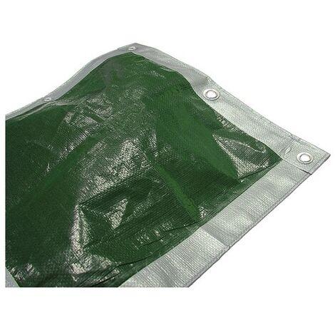 Tarpaulins Green / Silver