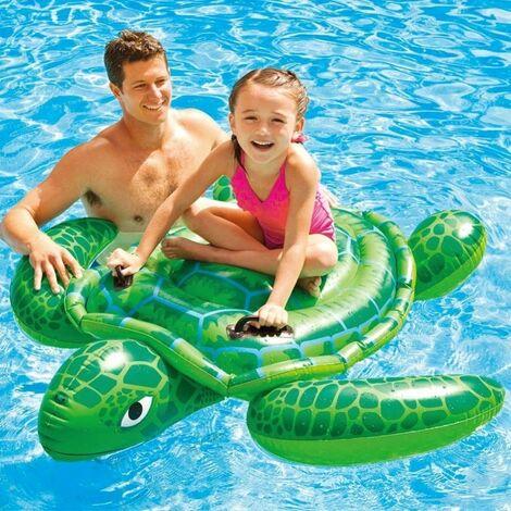 Canottino gonfiabile forma squalo per mare piscina spiaggia gioco bambino 031226