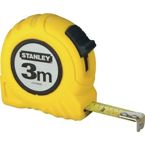 Taschenrollbandmaß L.8m B.25mm mm/cm EG II Kapsel Festst.STANLEY