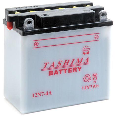 Tashima - Batería moto 12N7-4A 12V 7Ah