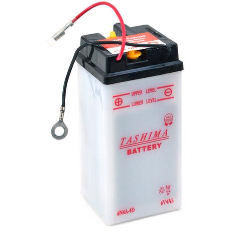 Tashima - Batería moto 6N4A-4D 6V 4Ah